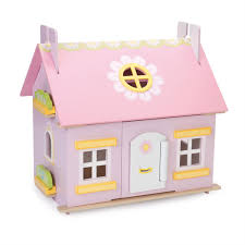 Dolls House Furniture Sets Le Toy Van Daisy Cottage Doll U0027s House In Stock 66 99