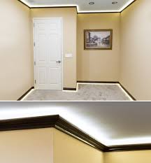 crown molding lighting led crown molding accent lighting home office st louis by