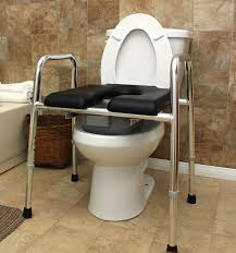 multifunctional commode shower bench raised padded toilet seat