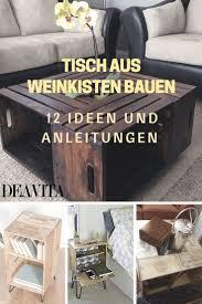 Wohnzimmertisch Kiste Die Besten 25 Couchtisch Aus Weinkisten Ideen Auf Pinterest