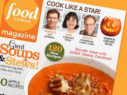 food network magazine october 2012 recipe index recipes and
