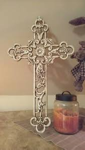 decorative crosses home decor decorative hanging cross vintage distressed style 4 25 tall