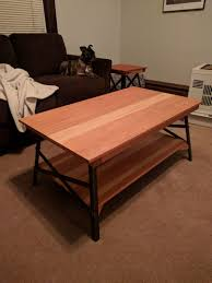 Coffee Tables And Side Tables Coffee Table Redwood Coffee Table Side Build Album On Imgur Lv