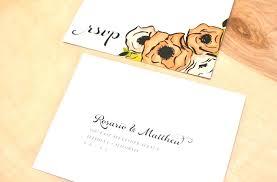 wedding invitations return address return address on wedding invitation mounttaishan info
