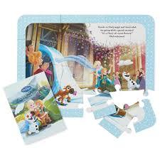 disney frozen mystery puzzle book kids books hallmark