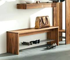 Narrow Storage Bench Living Room Incredible Shoe Storage Bench With Cushion