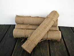 table runner 24 inch wide by 120 inch long burlap table