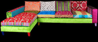 sofa patchwork patchwork corner sofa from ginny avison designs ltd