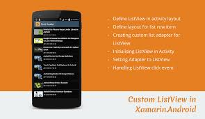 xamarin activity layout listview exle in xamarin android stacktips