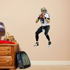 saints super bowl xliv mural fathead wall graphic new orleans