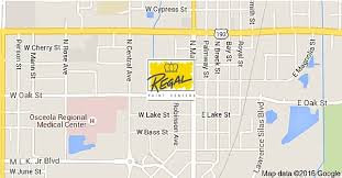 map of kissimmee regal paint staff any color you want at the price you need