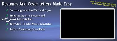 amazing free online resume cover letter builder gallery simple