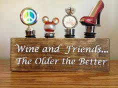 custom wine bottle stopper holder v2 made from retired napa wine