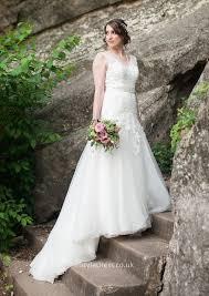 Tulle Wedding Dresses Open Back Wedding Dresses Uk Free Shipping Instyledress Co Uk