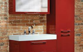 Red Bathroom Cabinets The Furniture Guild U0027s Nuvo Bathroom Collection 3rings