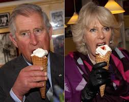 prince charles and camilla photos celebs chowing down on ice