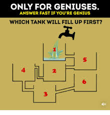 Fast 6 Meme - only for geniuses answer fast if you re genius which tank will fill
