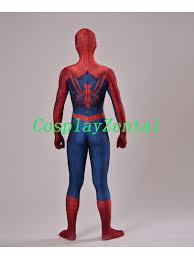 Spiderman Costume Halloween Art Spider Man Cosplay Halloween Costume 3d Design Spiderman Costume