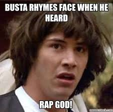 Rap God Meme - god