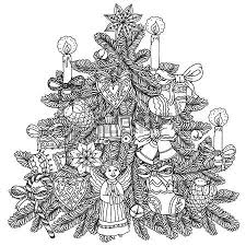 wreath with decorative items black and white the