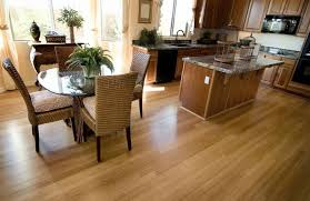 palm of wood flooring