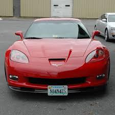 corvette front c7 corvette 2014 retractable front license plate bracket