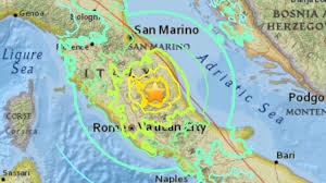 San Marino Italy Map by Italy Rescuers Toil Through Night Seeking Quake Survivors As Death
