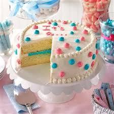 gender reveal cake recipe taste of home