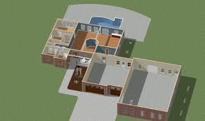 house perspective with floor plan home floor plans modeled in 3d 3d home modeling