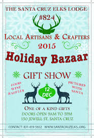 Santa Cruz County Christmas Tree Farms by Santa Cruz Holiday Shopping Events And Craft Fairs 2015