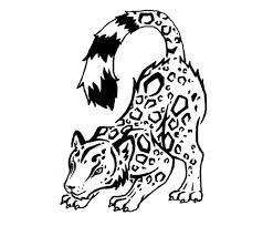 snow leopard tattoo by hollifrawr on deviantart