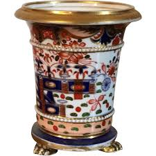Spode Vases Antique Early 19th Century English Spode 967 Imari Porcelain Vase