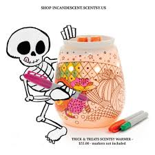 halloween wax warmer trick or treats coloring scentsy warmer 2016 halloween scentsy