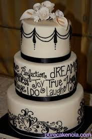 black and white wedding cakes wedding cake gallery new orleans custom wedding cakes cake