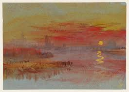 the scarlet sunset u0027 joseph mallord william turner c 1830 40 tate