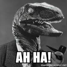 Philosoraptor Meme Maker - ah ha philosoraptor meme generator