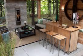 Patio Bar Designs Prepossessing Outdoor Patio Bar Ideas For Interior Home Designing