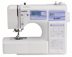 sewing machine table amazon review the brother hc1850 is a great inexpensive computerized
