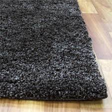 ultra thick super soft shag rug charcoal aladdinrugs 400x80cm