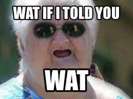 Wat Meme Old Lady - wat album on imgur
