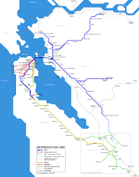 San Francisco Ferry Map by San Francisco Bay Area Ferry Map Ver 3
