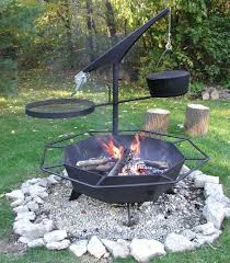 fire pit topper fire pits portable fire pit grills round steel outdoor grate