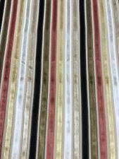 Striped Drapery Fabric Striped Velvet Drapery Craft Fabrics Ebay