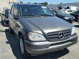 2000 mercedes ml430 auto auction ended on vin 4jgab72e6ya195572 2000 mercedes