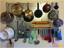 kitchen pan storage ideas kitchen pan storage ideas hang your pots and pans and utensils on