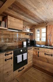 cuisine chalet bois le top des cuisines des internautes cuisines ouvertes design ou