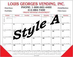 what is a desk blotter calendar deluxe handmade desk calendar