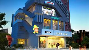 building design commercial building design shopping mall design multiplex 3d