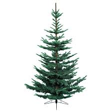 everlands 7ft nobilis fir artificial tree blue
