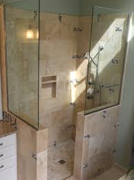 glass towel racks also modern alcove bathtub with built in shower